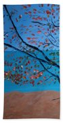 Lake Michigan Dunes Bath Towel
