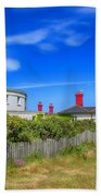 Dungeness Lighthouse Quarters Bath Towel