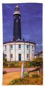 Dungeness Old Lighthouse Bath Towel