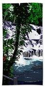 Dunns River Falls Jamaica Bath Towel