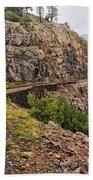Durango Train To Silverton Dsc07599 Bath Towel