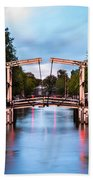 Dutch Bridge Bath Towel