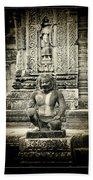 Dvarapala At Banteay Srey Hand Towel