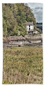 Dylan Thomas Boathouse At Laugharne 2 Bath Towel