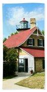 Eagle Bluff Lighthouse Bath Towel