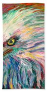 Eagle Fire Bath Towel