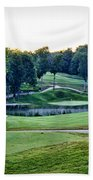 Eagle Knoll - Hole Fourteen From The Tees Bath Towel