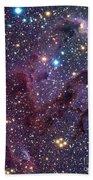 Eagle Nebula Bath Towel