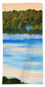 Early Morning On Lake Peipsi  Bath Towel