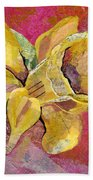 Early Spring I Daffodil Series Hand Towel