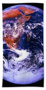 Earth From Space Centered On East Africa Bath Towel