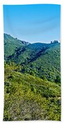 East Peak Of Mount Tamalpias-california Bath Towel