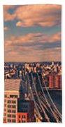 East River Bridges Bath Towel