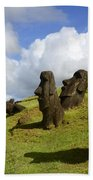 Easter Island 1 Bath Towel