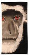 Eastern Colobus Monkey Bath Towel