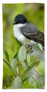 Eastern Kingbird Bath Towel
