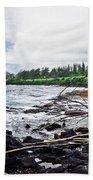 Eastern Shore Of Maui Bath Towel