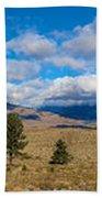 Eastern Sierras 28 Pano Bath Towel