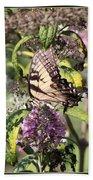 Eastern Tiger Swallowtail - Butterfly Bath Towel