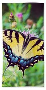 Eastern Tiger Swallowtail Bath Towel