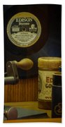 Edison Record And Equipment Bath Towel