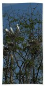 Egret Estuary   #6878 Bath Towel