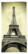 Mighty Eiffel Tower Bath Towel