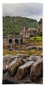 Eilean Donan Castle 1 Bath Towel