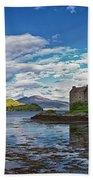 Eilean Donan Castle Bath Towel