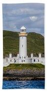 Eilean Musdile Lighthouse Bath Towel