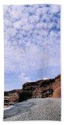 El Golfo On Lanzarote Bath Towel