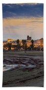 El Rompidillo Beach Panorama Cadiz Spain Bath Towel