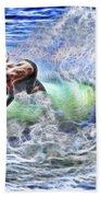 Electric Splash Bath Towel