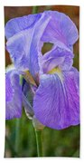 Elegant Iris Bath Towel