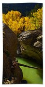 Emerald Canyon Bath Towel