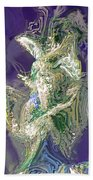 Emerald Elemental Bath Towel