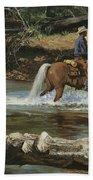 Palomino Crossing Big Creek Bath Towel