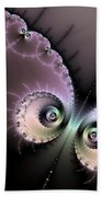 Encounter - Digital Fractal Artwork Bath Towel