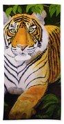 Endangered Bengal Tiger Bath Towel