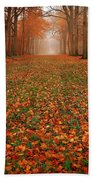 Endless Autumn Hand Towel