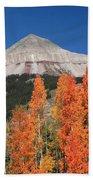 2d10688-engineer Mountain In Fall  Bath Towel