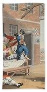 England, Illustration From Hogarth Bath Towel
