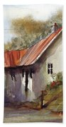 English Country Lane Bath Towel