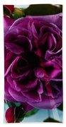 English Rose - Purple Rose - Fragrant Rose Bath Towel