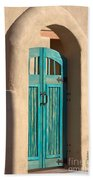 Enter Turquoise Hand Towel