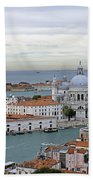 Entrance To Grand Canal Venice Bath Towel