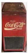 Epcot Old Coke Bath Towel