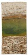 Ephedra Spring In West Thumb Geyser Basin Bath Towel