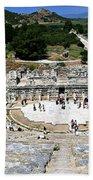 Theater Of Ephesus Bath Towel