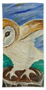 Equinox Owl Bath Towel